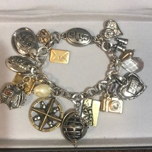 Chico's charm bracelet nwot